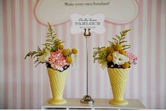 I saw this ice cream glasses in stockman and i had same idea about flowers in them :))