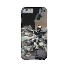 Batman Fighting Arch Enemies Barely There Iphone 6 Case ($42) ❤ liked on Polyvore featuring accessories and tech accessories