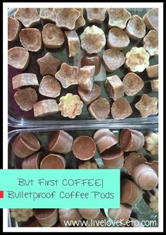 Bullet Proof Coffee Pods. For Quite Mornings, Travel and BBC on the go.
