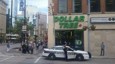 """Private Officer Breaking News:  Shoplifter pulls knife on Dollar Tree manager (Winnipeg Canada Oct 6 2016) The female store manager confronted the would-be shoplifter as she was about to leave the Dollar Tree.  The shoplifter had hidden a plastic water bottle in her purse. """"The manager said, 'Really, you're stealing from a dollar store?  That's $1.25,'"""" Brogden said, saying that the would-be shoplifter pulled out a small knife and threatened the manager with it during the confrontation."""