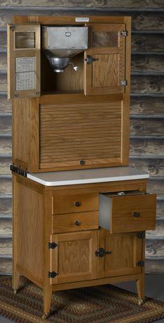 Hoosier cabinet. One day,.......