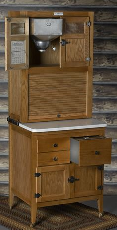 Hoosier cabinet. One day,.......