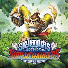 Donkey Kong et Bowser dans Skylanders SuperChargers
