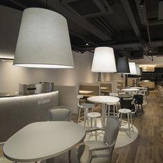 Tumamigui Sushi restaurant by nendo in Tokyo, Japan. #morfae   #nendo   #interiordesign   #restaurant   #design