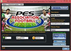 PES Association Football Hack Cheat Tool [generator For Facebook] http://www.hackcheatz.com/pes-association-football-hack-cheat-tool-generator-for-facebook/