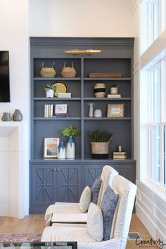 Cabinet Paint Color is Benjamin Moore Trout Gray