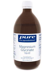 Pure Encapsulations- Magnesium Glycinate liquid 16.2 fl oz