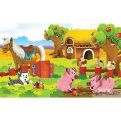 kids farm murals - Yahoo Image Search Results