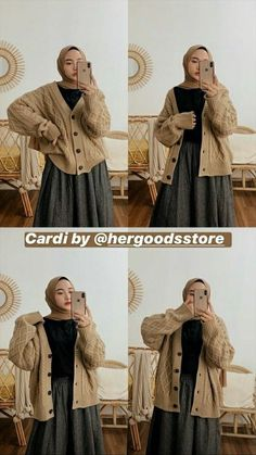 Korean Outfit Street Styles, Korean Outfits, Casual Hijab Outfit, Ootd Hijab, How To Wear Denim Jacket, Hijab Stile, Hijab Fashion Inspiration, Girl Outfits, Fashion Outfits