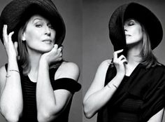 Actress: Meryl Streep.