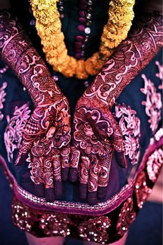 Wedding henna design ~