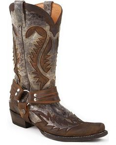 Stetson Crackle Harness Cowboy Boots - Snip Toe Deals on - Stetson Mens Trail Cowboy Acorn Coupons, Cowboy Boots Women, Cowgirl Boots, Western Boots, Western Wear, Western Cowboy, Country Boots, Biker Boots, Motorcycle Boots, Cowboy Boots Square Toe