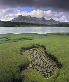 Parched Ben Loyal, Kyle of Tongue, Sutherland, Scotland