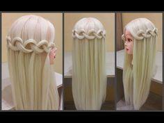 "Коса - ""Водопад"" Прическа за 5 мин.Scythe - ""Waterfall"" Hairstyle for 5 minutes. - YouTube"