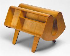 Isokon Penguin Donkey Bookcase, designed by Egon Riss and Jack Pritchard, 1939