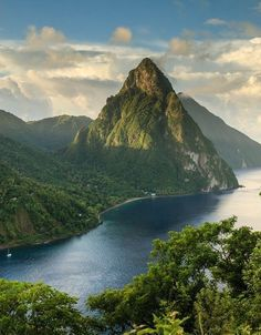 St. Lucia | Discover 20 of the best islands in the world, which stretch from the nearby Caribbean, all the way to Southeast Asia.