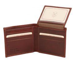 Exclusieve leren portemonnee voor mannen - TL141353 - Tuscany Leather