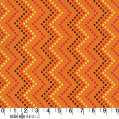 Zig Zag Dot Orange ~ Heaven and Helsinki @ Sew,Mama,Sew!