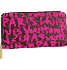 Cheap Louis Vuitton Zippy Wallet This wallet comes in striking Monogram Graffiti canvas inspired by late American artist Stephen Sprouse. It has a practical zip closure and holds bills, credit cards, small change and identity papers. Louis Vuitton ベルト, Tienda Louis Vuitton, Louis Vuitton Online, Louis Vuitton Handbags, Louis Vuitton Monogram, Vuitton Bag, Lv Handbags, Fashion Handbags, Fashion Bags