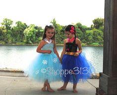Frozen Inspired Tutu Dress Up Costume