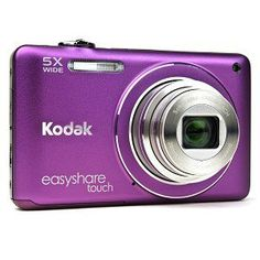 Kodak Easyshare Touch M5370 16 MP Digital Camera with 5x Optical Zoom, HD Video Capture and 3.0-Inch Capacitive Touchscreen LCD (Purple) by Kodak. $149.00. M5370 - 16 MP - CCD - 5 X - 28-140MM - 3 INCH - TOUCHSCREEN - 5 X