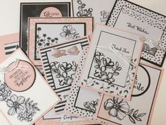 At our recent Stamping and Scrapbooking Retreat, I wanted to share with the attendees how to use the Scrapbooking Memories & More Card Packs to make cards. My intention was to use the Petal Passion Memories & More Card Pack and I had the samples all made up and the class all ready! Then they were SO popular, they went on backorder So, we ended up doing the Petal Garden Memories & More Card Pack I will share the cards we did soon It was requested that we have a class and do up my B...