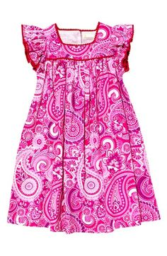 MASALABABY 'Zuri' Paisley Print Cotton Dress (Toddler Girls, Little Girls & Big Girls) available at #Nordstrom