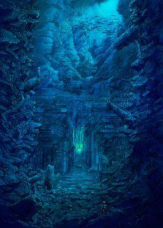 Locations - Underwater city