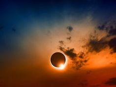 Eclipse annulaire de Soleil en direct