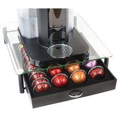 Coffee Pod Storage, Coffee Pod Holder, Coffee Pods, Storage Drawers, Food Storage, Feng Shui, Coffee Accessories, Accessories Shop, Coffee Machine