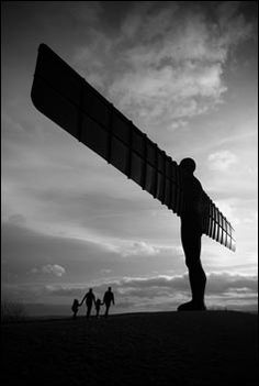 Antony Gormley created the Angel of the North on the . Angel Of The North, Antony Gormley, Contemporary Sculpture, Newcastle, England, City, Gallery, Travel, Viajes