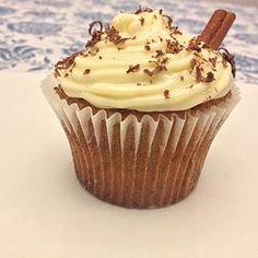 Cupcake de capuccino