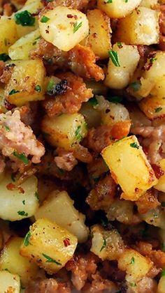 Sausage & Potato Breakfast Hash                              …                                                                                                                                                     More