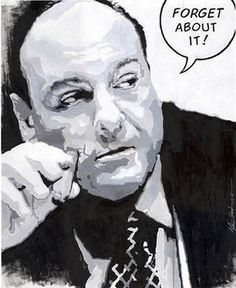 TONY SOPRANO-James Gandolfini - Great actor - what a shame to lose him at such a young age(51)