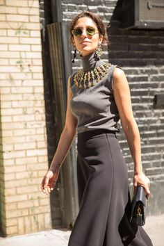 Pin for Later: Your VIP Pass to NYFW's Best Street Style New York Fashion Week, Day 7 Yasmin Sewell.