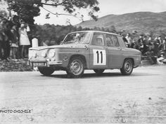Renault R8 Gordini Rally Car