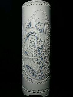 40cm Tubo de 150mm Receptáculo de porcelana (bocal) E27 Cabo paralelo 1m com interruptor e plug Bivolt, não acompanha lâmpada.