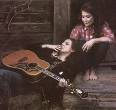 Loretta Lynn and Jack White. I love this
