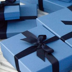 It is time to start thinking inside the box, the Nile Blue box that is... #PerfectPresents
