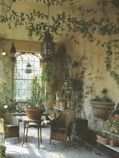 STYLISH SUNROOMS | Mark D. Sikes: Chic People, Glamorous Places, Stylish Things