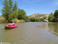 Kayaking the Verde River with Sedona Adventure Tours