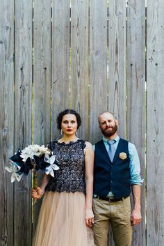 Home Grown Woodland Wedding with Origami Cranes & Flowers: Jason & Alexis