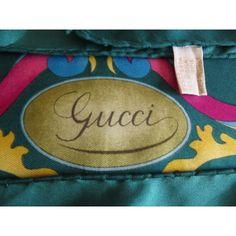 f43d3653468e Foulard en soie,gucci, vintage, montgolfières, carré gucci, silk ...