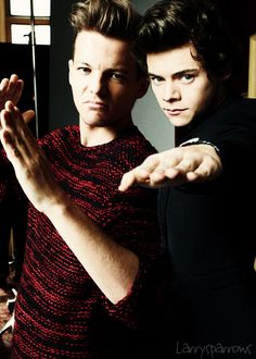 Harry and Louis. This is too good.