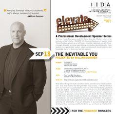 ELEVATE: A Professional Development Speaker Series (VOL.1) « IIDA Rocky Mountain Chapter IIDA Rocky Mountain Chapter