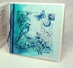 CC467  Color Washed by BeckyTE - Cards and Paper Crafts at Splitcoaststampers