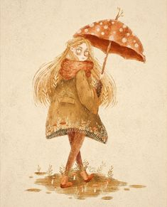 Mushroom girl #art