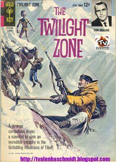 ALÉM DA IMAGINAÇÃO (THE TWILIGHT ZONE) Nº 08 Classic Comic