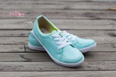Tenis Pop, color verde menta.