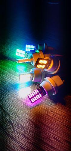 Lampu LED T10 W5W tancap 12V canbus, bisa digunakan untuk motor dan mobil.